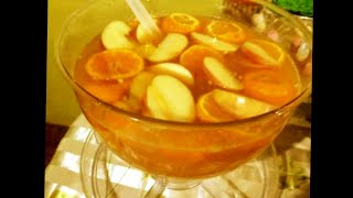 Refreshing Fruity Fruit Punch