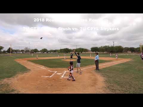 2018 Round Rock Rodeo Roundup - Pool Play vs. CPYL Strykers (7U)