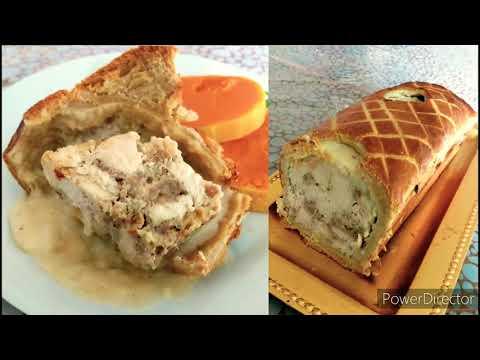 recette-pâté-en-croûte-de-poulet-en-béchamel,-pour-l'hiver-!!!🍗🍗🍗🐓