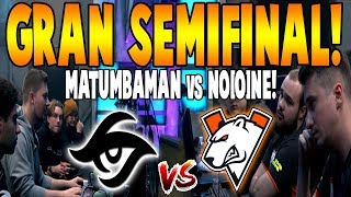 "SECRET vs VIRTUS PRO [BO3] - SEMIFINAL ""Matumbaman vs No[o]ne"" -  WePlay! Mad Moon DOTA 2"