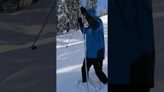 30 см снега в Шерегеше 1 ноября 2020 года
