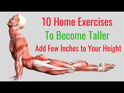 10 Home Exercises to Become Taller in No Time