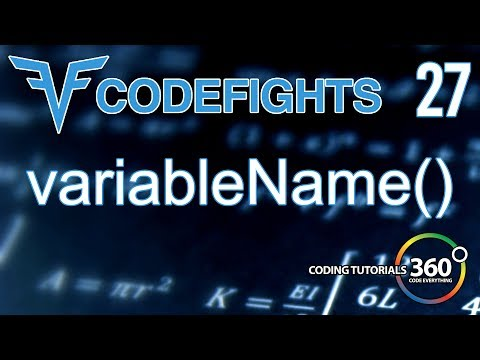 VariableName | CodeFights Intro Algorithm JavaScript Solution and Breakdown