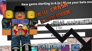 [Roblox] Case Clicker: NEW CRASH GAMEMODE (EASY FREE CASE BUX OR A FAILURE?)