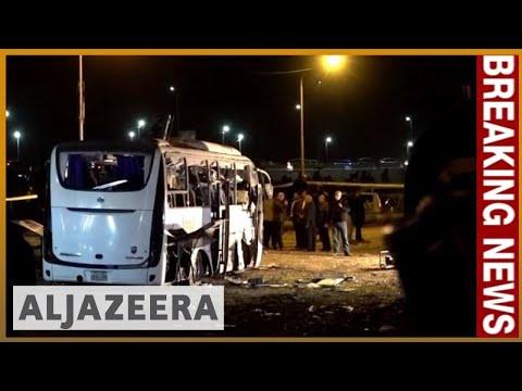 🇪🇬 🇻🇳 Tourist bus bombed in Egypt near Giza Pyramids - latest   Al Jazeera English