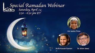 Special Ramadan Webinar