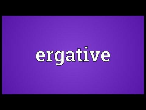 Header of ergative