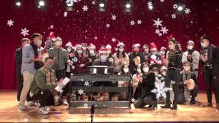 Publication Date: 2020-12-25 | Video Title: 香港布廠商會朱石麟中學 Xmas song celebrat