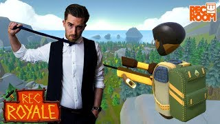 REC ROYALE: IT'S LIKE FORTNITE IN VR! | VR Sundays with Rowdy | HTC Vive Pro