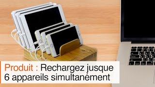 Chargeur multi-tablettes 6 ports (iOS, Android)