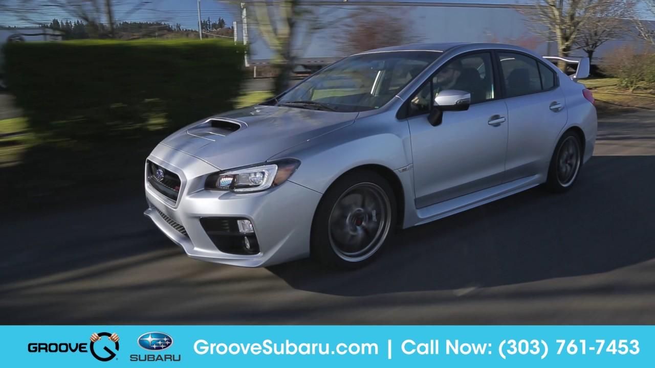 2017 Subaru Wrx Sti Walkaround Features And Updates