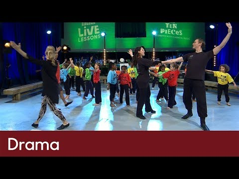 Creating dance motifs | Drama - Ten Pieces and The Nutcracker - Live Lesson EXTRA