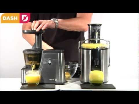 Dash Squeeze Juicer For Slow Juicing Fruits, Vegetables And Nuts
