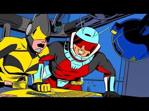 Marvel - Человек-муравей - мультфильм по легендарным комиксам (Сезон 1, Серия 2)