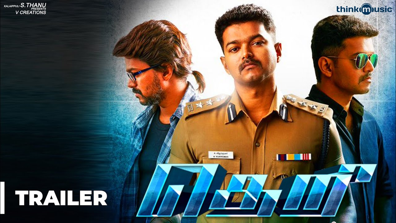 Theri Official Trailer | 2K | Vijay, Samantha, Amy Jackson | Atlee | G ...