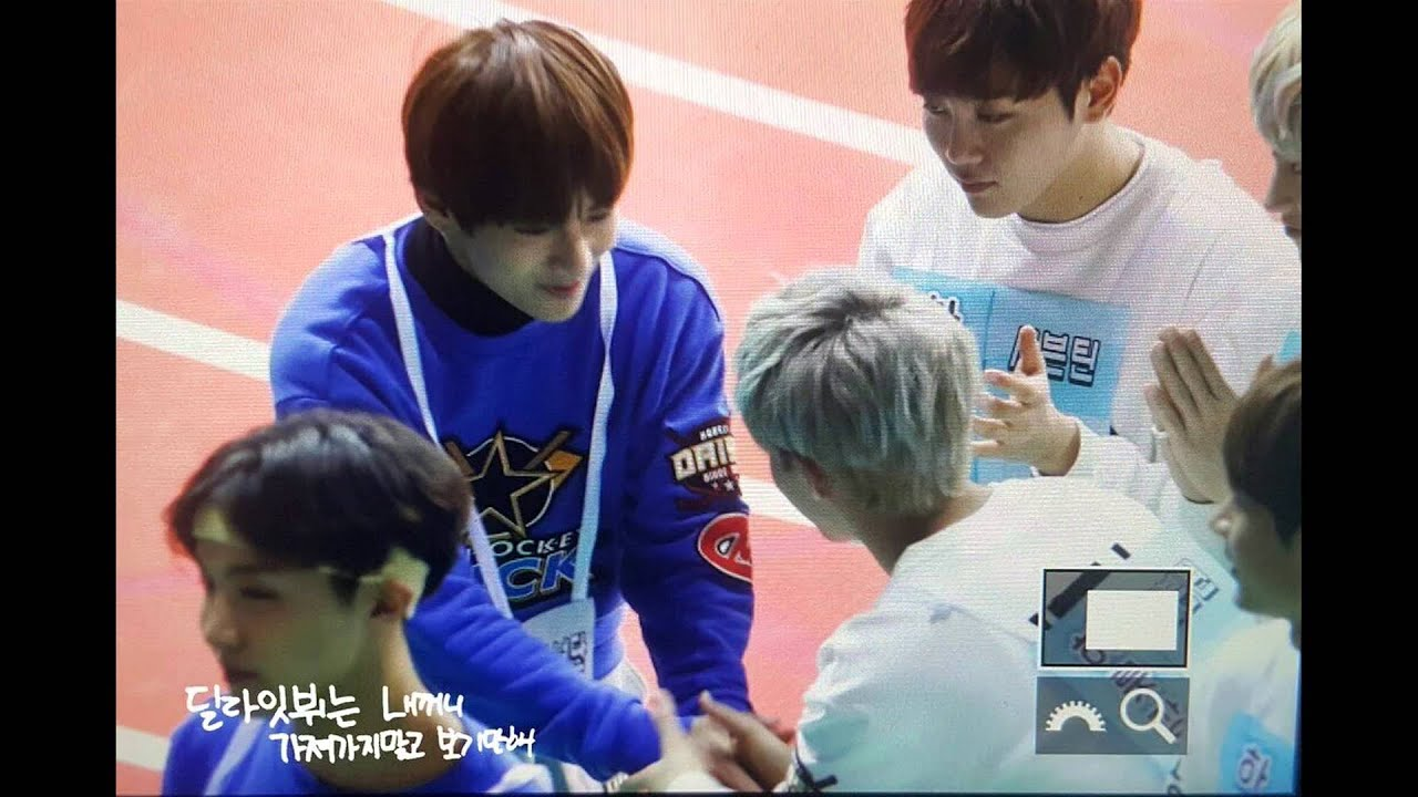 Bts X Seventeen Little Momments In Isac 2016 Youtube