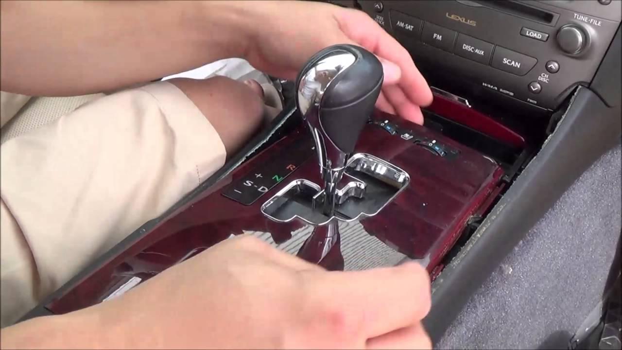 2006 Lexus Rx330 >> 2006-2013 lexus is350 & lexus is250 center console removal ...