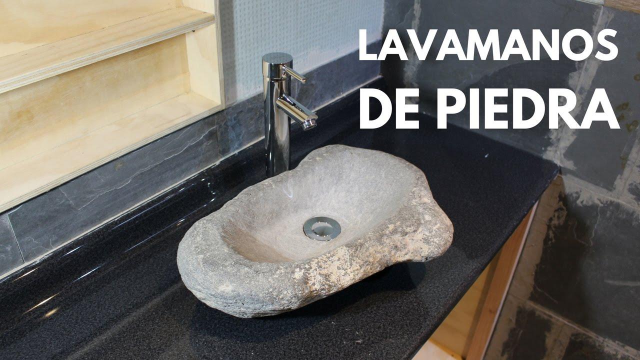 Lavamanos de piedra parte 2 youtube - Lavamanos de piedra ...