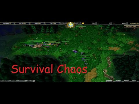 Warcraft III - Survival Chaos - ENGINEERS TO THE RESCUE [DWARF]