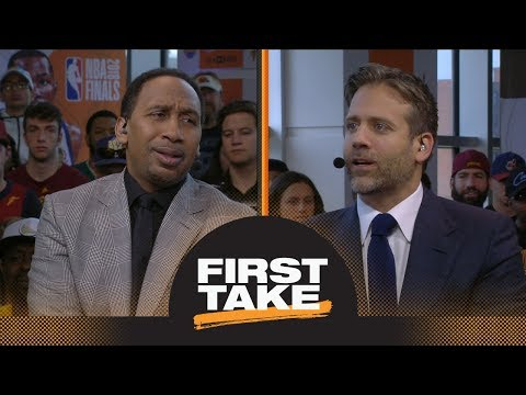 Stephen A. and Max react to Warriors defeating Cavaliers in Game 3 of NBA Finals | First Take | ESPN