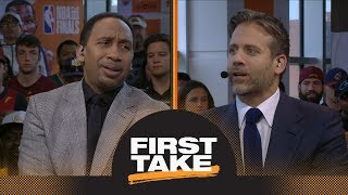 Stephen A. and Max react to Warriors defeating Cavaliers in Game 3 of NBA Finals | First Take | ESPN thumbnail