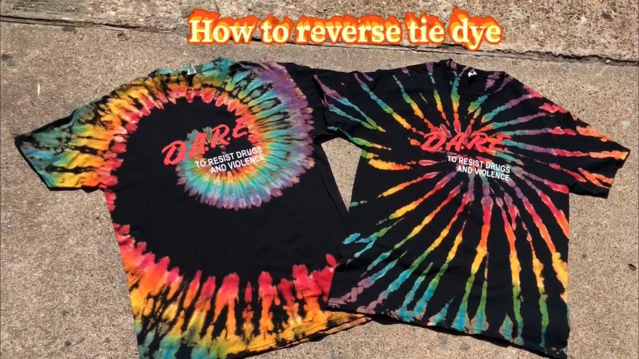Reverse Tye Dye Raise a Hallelujah  Tye Dye