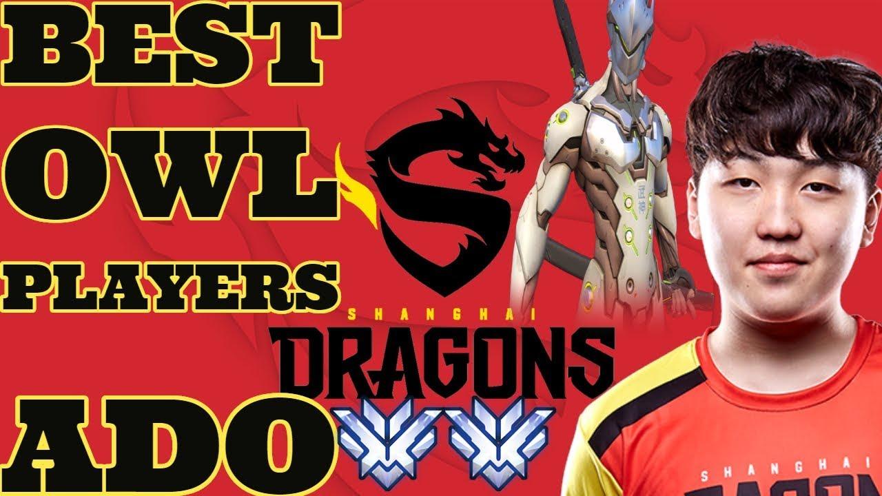 Pro Genji Ado Best Overwatch League Players Pt 8 아도 매드무비 Youtube