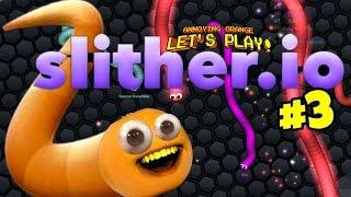 - Annoying Orange Slither.io 3 Buggy Eyes