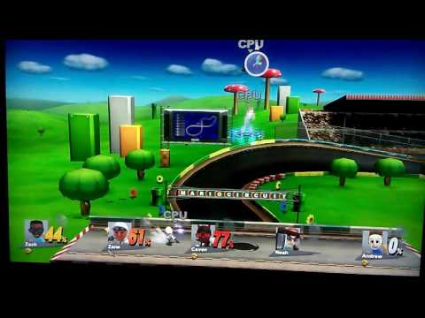 McConnell Middle School in Super Smash Bros; Battle of the Boys #1