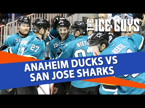 Anaheim Ducks vs San Jose Sharks   The Ice Guys   NHL Picks
