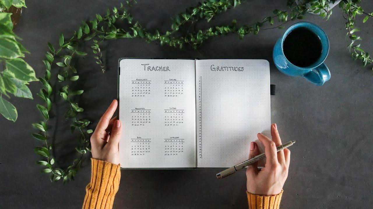 Download Minimal bullet journal setup » for productivity + mindfulness