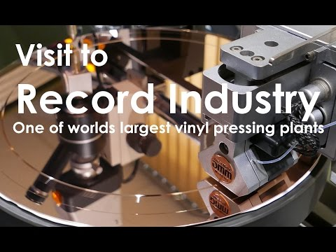 Our visit to Record Industry, one of world's largest vinyl pressing plants !