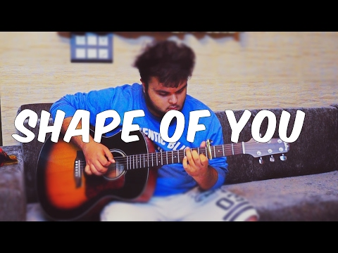 [free tabs] Shape Of You - Ed Sheeran (fingerstyle guitar cover)