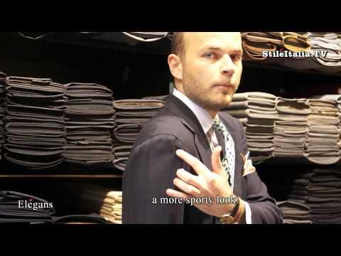 """Italian Gentleman"" Neapolitan Jacket"" - ""Giacca Napoletana"" ""Italian Tailoring"" ""Italian Fashion"""