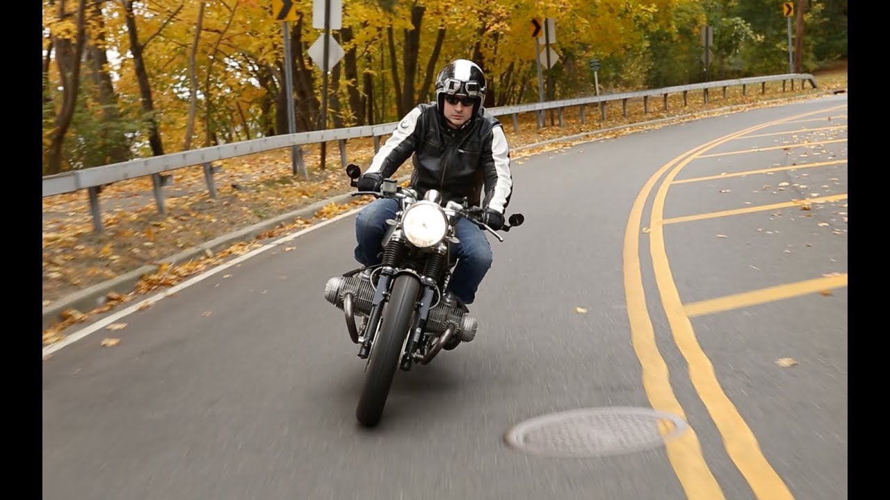 bill costello bmw r100 cafe racer motorcycle story - youtube