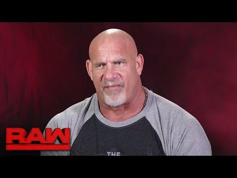 Thumbnail: Goldberg gets brutally honest about Brock Lesnar: Raw, Nov. 7, 2016