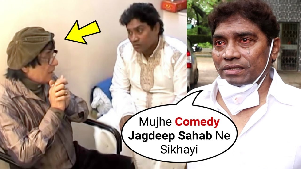 Johny Lever EMOTIONAL Memory With Jagdeep Jaffrey After Passing Away | Javed Jaffrey Father