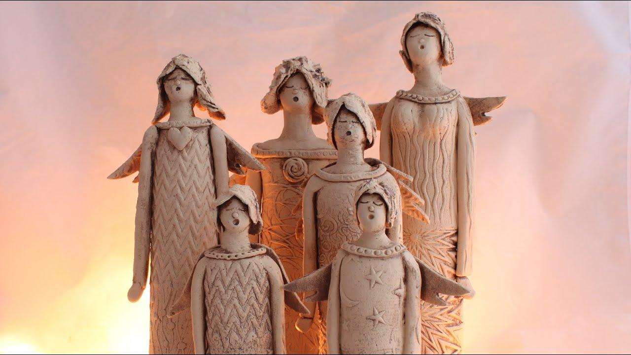 keramik engelchor ceramic angel choir youtube. Black Bedroom Furniture Sets. Home Design Ideas