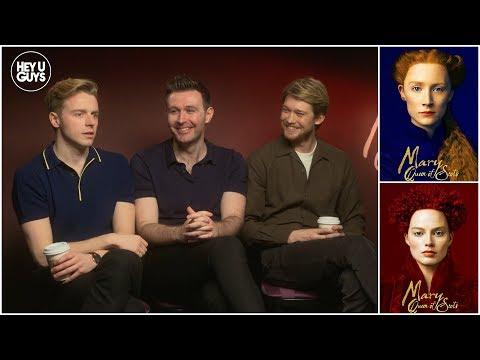 Mary Queen Of Scots: Joe Alwyn, Jack Lowden, Jodie Rourke On The Saoirse Ronan/Margot Robbie Film