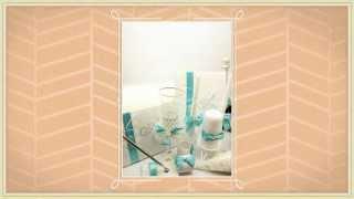 Свадебная ручка для росписи и пожеланий Gilliann Magic Biruza PEN017