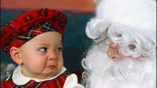 Bébés drôles réunion Compilation du père Noël 2018