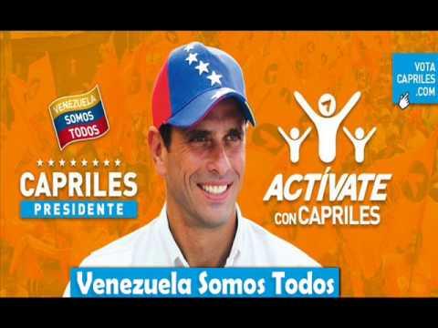 Venezuela Somos Todos - Henrique Capriles 2013