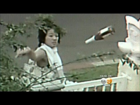 Caught On Camera: Bottles Thrown At Buddha Statues In O.C.