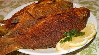 Жареные Караси В Золотистой Панировке | Fried Fish Recipe.