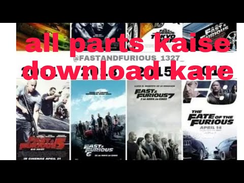 Fast And Furious 1-8 Kaise Download Kare #all Parts