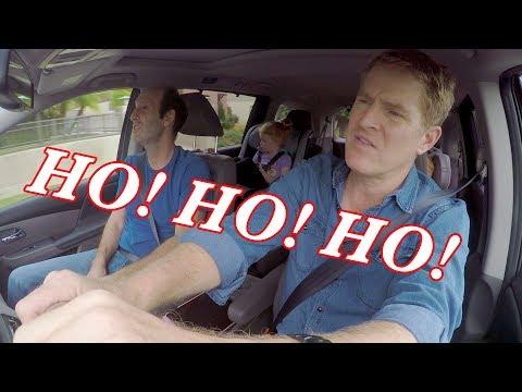 Christmas Comedy | Christmas Songs by Dads - Acapella Carpool Karaoke