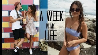 A WEEK IN MY LIFE: 3 | Summer in NYC + Family Visits
