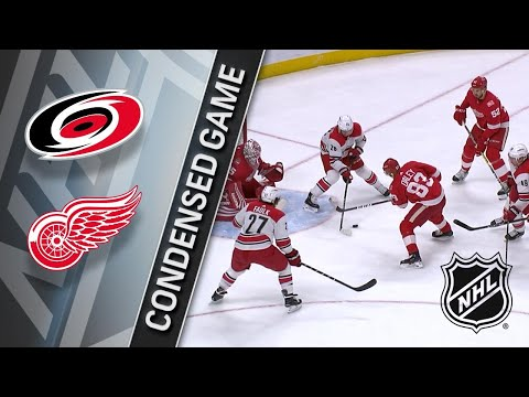 02/24/18 Condensed Game: Hurricanes @ Red Wings