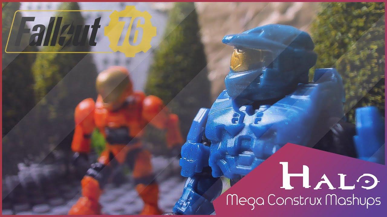 FALLOUT 76 | A Halo Mega Construx Mashup