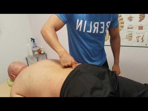 Physiotherapie Lendenwirbelsäule LWS